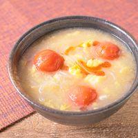 ミニトマトと春雨の酸辣湯
