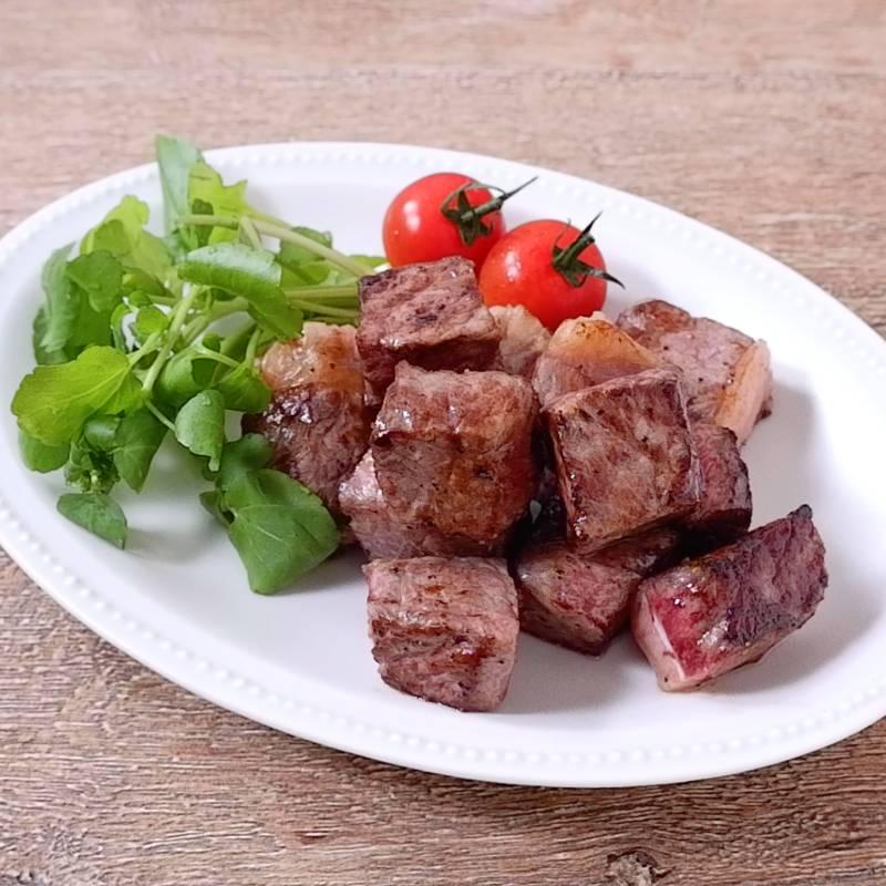 焼き サイコロ 方 ステーキ
