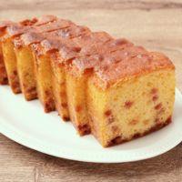 粒ジャムで簡単パウンドケーキ