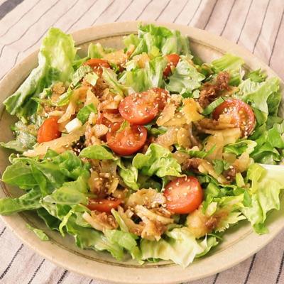 レタスとセロリのさっぱりサラダ