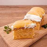 優しい味わい!桃缶でパウンドケーキ