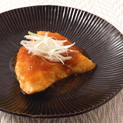 メカジキの中華風黒酢ソテー