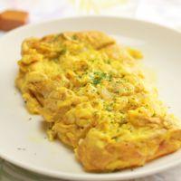 カレーチーズの卵焼き