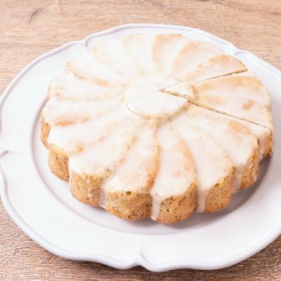 マルグリット型で可愛いバナナケーキ