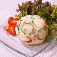 スモークサーモンでポテトサラダ