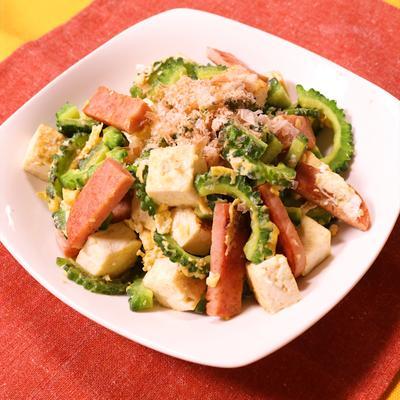沖縄家庭料理!ゴーヤーチャンプルー