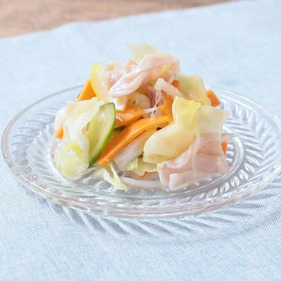 たっぷり野菜の生ハムレモンマリネ