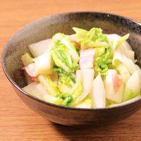 白菜とベーコンの柚子胡椒炒め