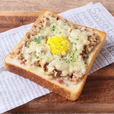 エリンギたっぷり チーズトースト