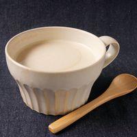 きな粉と黒蜜のホットミルク