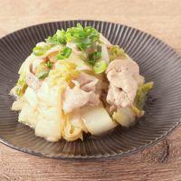 白菜と豚肉のゆず胡椒ポン酢和え