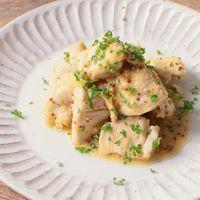 常備菜に 鶏むね肉のメープルマスタード炒め