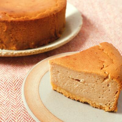 マロンのチーズケーキ