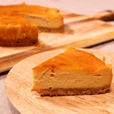 ほろ苦大人味!キャラメルチーズケーキ