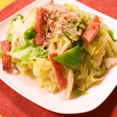 沖縄家庭料理!タマナー(キャベツ)チャンプルー
