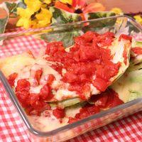 オーブンで簡単調理!鶏肉とキャベツのトマト煮