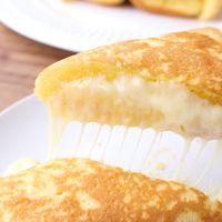 朝食にもおやつにも 卵焼き器でチーズドック
