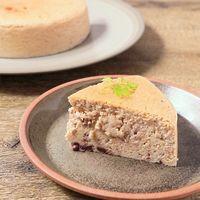 小豆スフレチーズケーキ