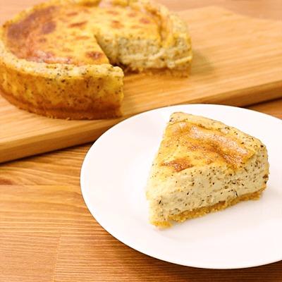 簡単!紅茶のベイクドチーズケーキ
