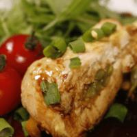 鶏胸肉の野菜包み焼き