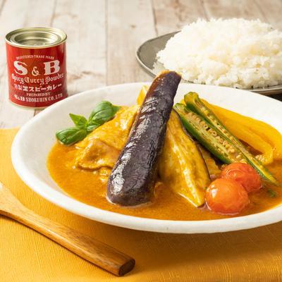 レンジで簡単!さっぱり夏野菜スープカレー