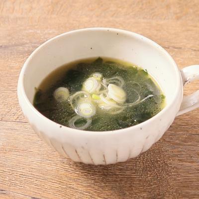 韓国風 わかめスープ
