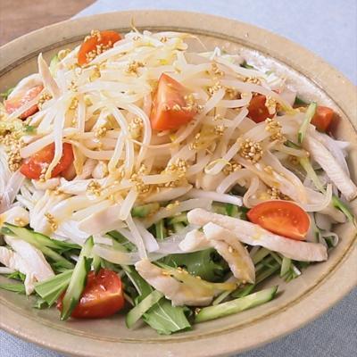 からしが美味しい さっぱり中華風サラダ